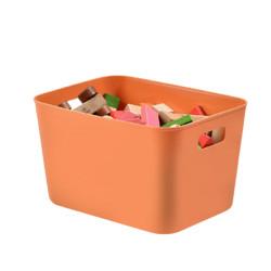 BELO 百露 桌面收纳盒 32*24*19cm 慕色橙