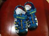 天猫巴布豆童鞋2016夏季新款韩版女童男童沙滩鞋包头儿童凉鞋