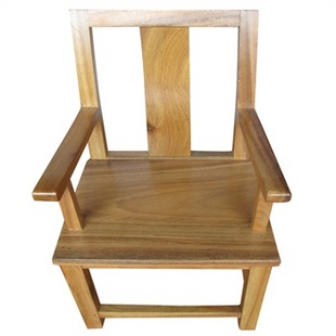 根之魂 非洲花梨木 实木办公家具 实木椅子 带扶手靠背椅 办公桌餐桌