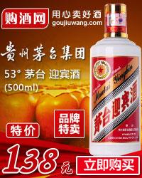 53° 茅臺 迎賓酒 500ml