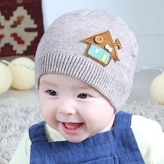 宝宝针织毛线帽