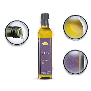 紫袍进口亚麻油冷榨500ml