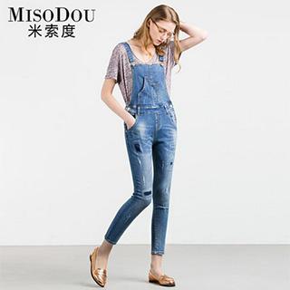 秋季女士背带裤