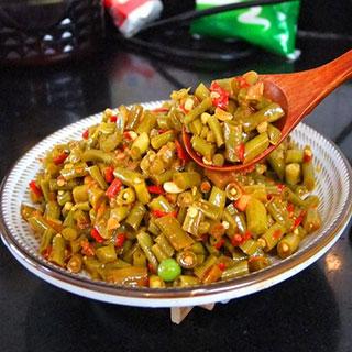 腌豇豆农家手工自制酸豆角400g
