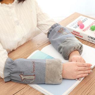 婴儿童短款卡通纯棉袖套