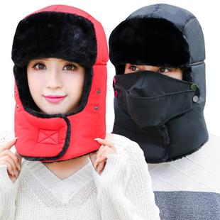 冬季防风加厚户外雷锋帽