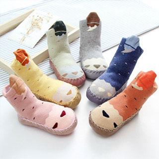婴儿学步防滑地板鞋袜