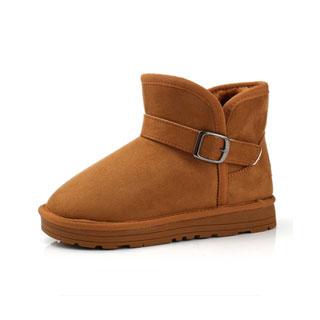男女童加绒雪地靴