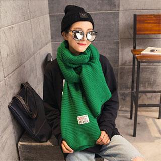 韩版百搭毛线围巾190*55cm