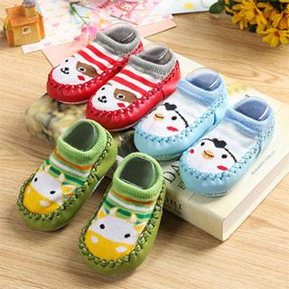 宝宝学步地板鞋袜子