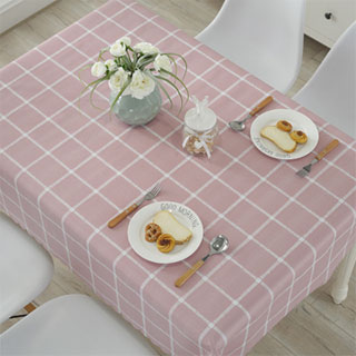 PVC塑料欧式餐桌布