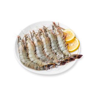 马达加斯加冻黑虎虾800g