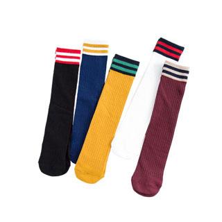 5双学院风堆堆袜