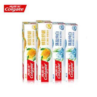 高露洁蜂胶牙膏120g*4支