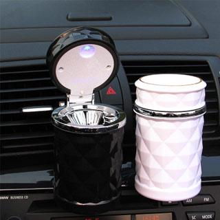 LED带灯款车载烟灰缸