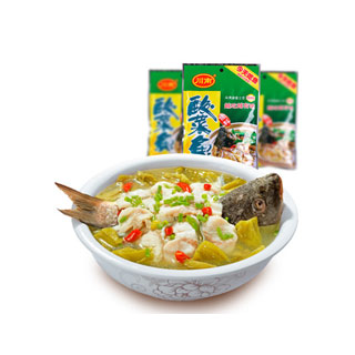 酸菜鱼火锅底料300g*3袋