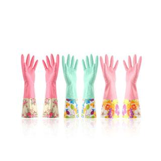 加厚清洗家务胶手套