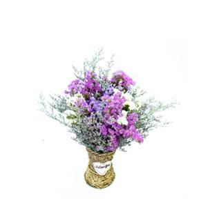 花+花瓶 云南天然干花