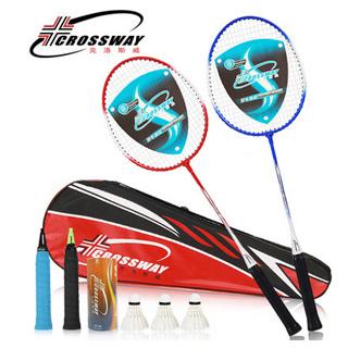 2支装羽毛球拍
