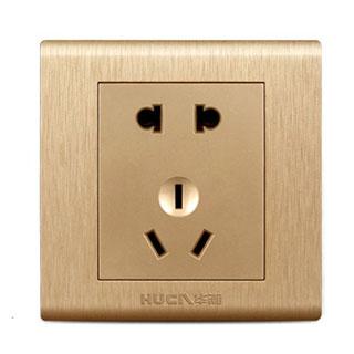 5孔电源插座开关面板