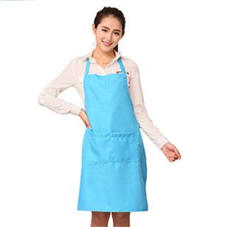 韩版时尚广告围裙厨房防水可爱围裙