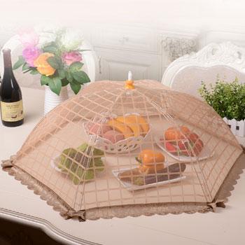 可折叠饭菜罩餐桌罩