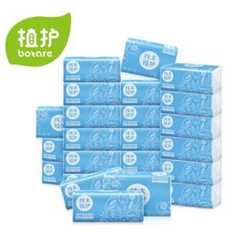 植护原木3层面巾纸24包整箱