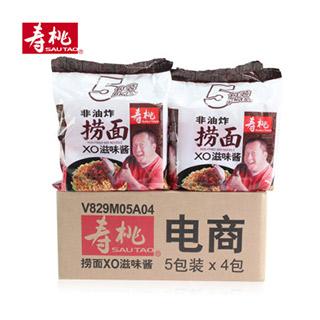 寿桃捞面xo酱味5包装x4袋