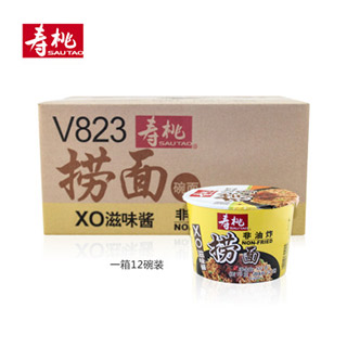 寿桃XO滋味酱捞面碗装12个