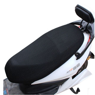 3D网踏板摩托车电瓶车座垫套