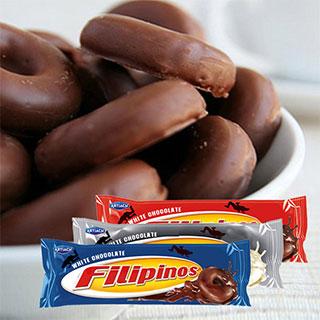 西班牙进口黑白牛奶巧克力135g