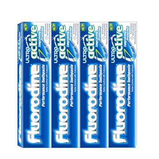 氟洛迪恩牙膏英国进口4支装