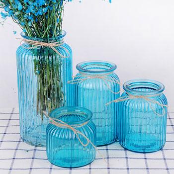 欧式复古创意玻璃花瓶