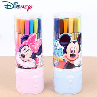 迪士尼可水洗水彩笔12色