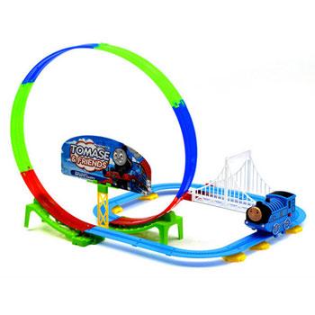 托马斯电动多层轨道玩具车