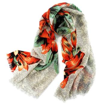 反季时尚薄款羊毛围巾