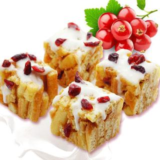 牛轧糖沙琪玛松软蔓越莓味