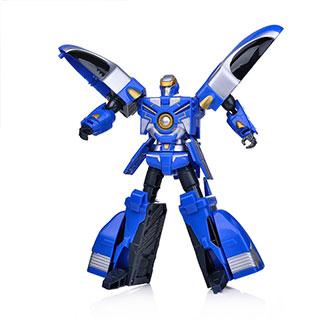 智尊正版元气勇者益智变形玩具机器人