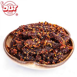 四川特产麻辣小吃牛肉干组合装88g*3包