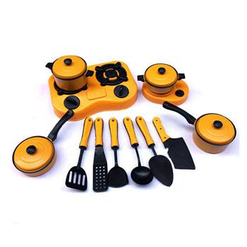 12件套儿童厨房早教玩具