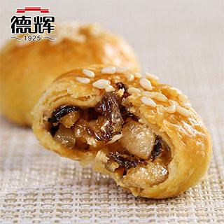 德辉酥饼梅干菜肉松金华酥饼500g