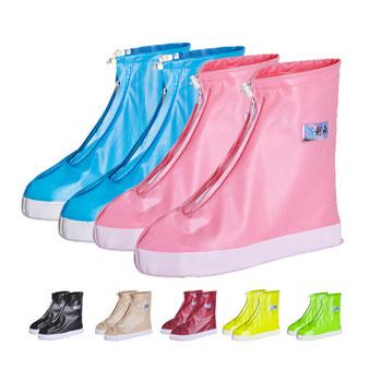 防滑耐磨加厚底雨鞋套