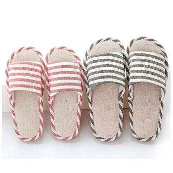 特价夏季家居棉麻拖鞋