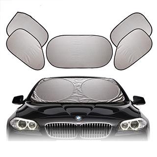 汽车遮阳挡6件套加厚防晒隔热遮阳板