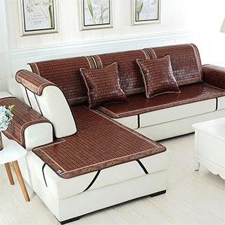 【买一送一】麻将坐垫凉席防滑沙发垫45*45