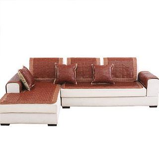 沙发垫夏季凉席欧式现代简约坐垫子