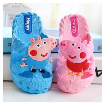 小猪佩奇儿童防滑拖鞋