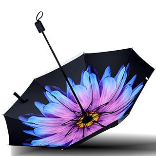 防晒遮阳伞防紫外线晴雨伞两用三折