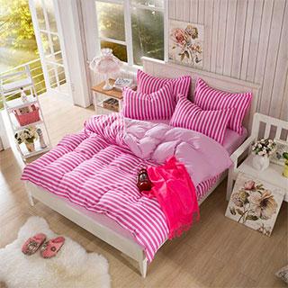 创星家纺无印良品简约床上用品四件套 ¥98.00