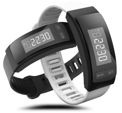 运动计步器健康防水腕带学生超长待机手环